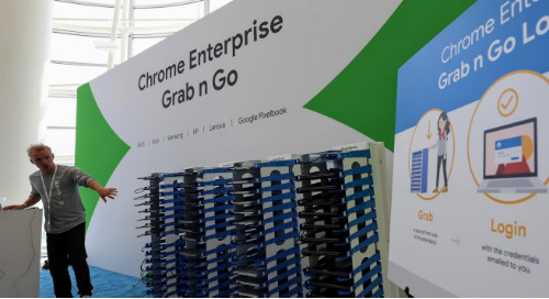 Google's Grab and Go Chromebook Program in Action