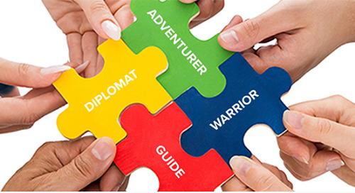 チームというパズルを完成させるピースは、4通りの従業員ペルソナ