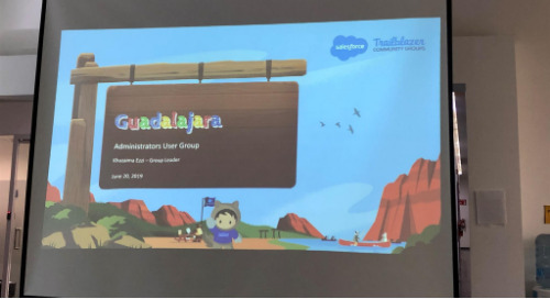 Inaugural Meet-Up in Guadalajara, MX, a Salesforce User Group Success