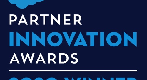 Appirio Wins 2020 Salesforce Innovation Award for MuleSoft