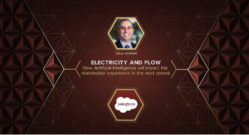 Keynote: Electricity and Flow - How Artificial Intelligence Will Impact the Stakeholder Experience in the Next Normal