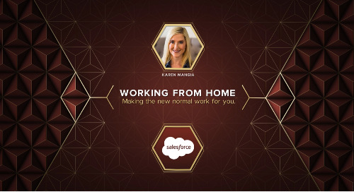 Working from Home with Karen Mangia