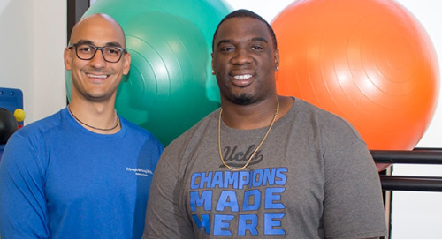 Comeback Kid Donovan Carter talks health and recovery at the Wellness Corner