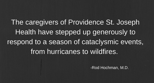 Responding to a season of cataclysmic natural disasters