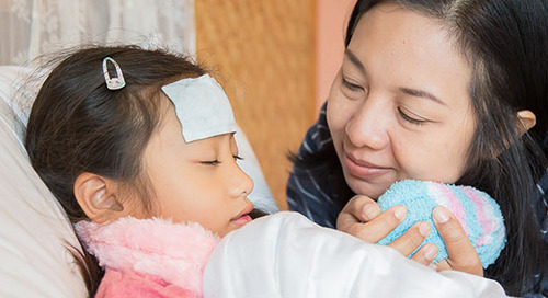 Fast facts about fever for nervous parents