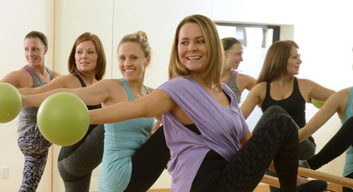 Three Weeks After Hysterectomy, This Mother of Two is Back at Barre Studio