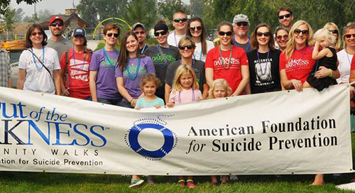 #WhyIWalk: Out of the Darkness Walk Team Captain Testimonials