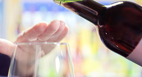 Alcohol is not healthy; if you drink, do so in moderation