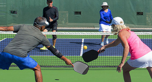 Racket or paddle sports may offer greatest benefits