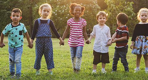 9 ways to build healthy immune systems in children