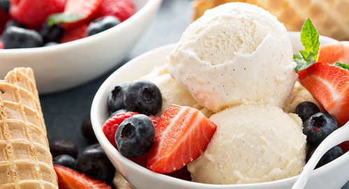 What's the skinny on low-calorie ice creams?