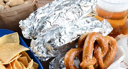 Healthy swaps for your family's favorite ballpark snacks