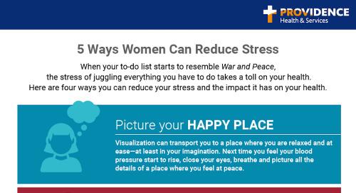 Women and stress: 5 ways to beat it