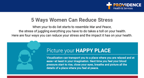 Women and stress: 5 ways to beat it