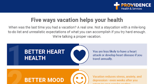 Five ways vacation helps your health