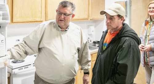 Alaska - Catholic Social Services housing program offers a fresh start