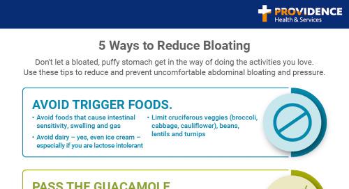 5 ways women can reduce bloating