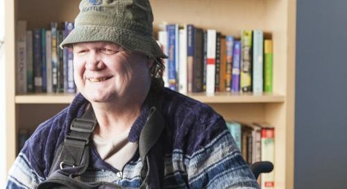 Washington - 'Moments of joy' include a safe, caring housing community