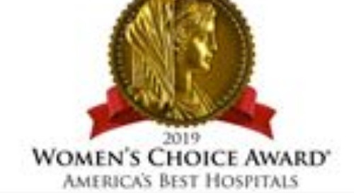 Mission Hospital Awarded the 2019 Women's Choice Award® as one of America's Best Hospitals