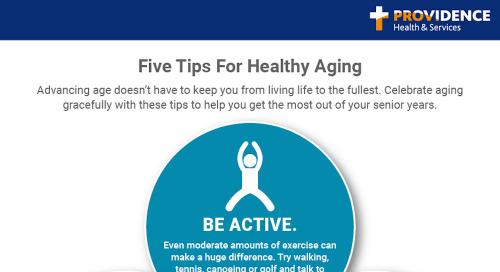Five secrets for aging gracefully