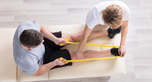 Physical therapy after joint replacement