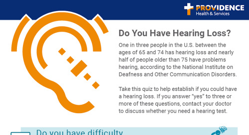 Do you have hearing loss?