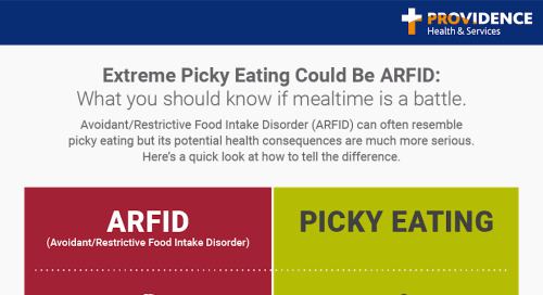 Extreme picky eating could be ARFID
