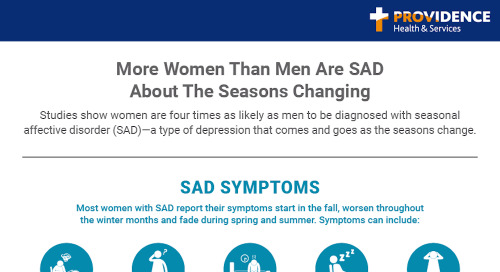 More women than men are SAD about the seasons changing