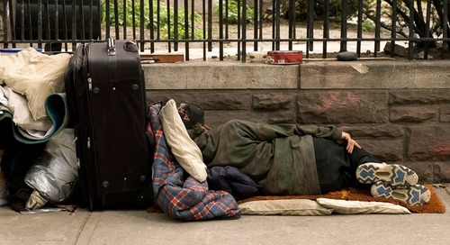 Homeless people need both immediate and long-term housing solutions
