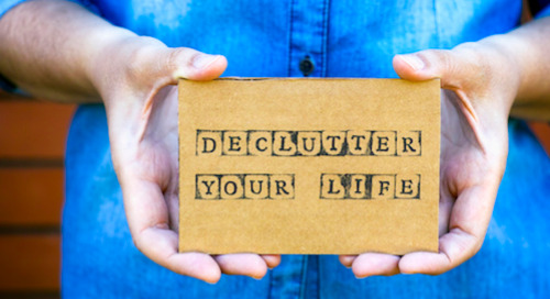 New year. New space. Ways to declutter your life.
