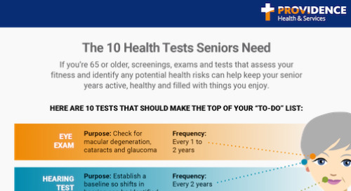 Schedule these 10 health tests when you turn 65