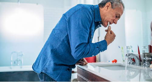Beyond brushing: Keeping a healthy mouth as you age