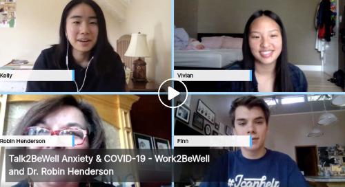 Talk2BeWell teens discuss anxiety and COVID-19
