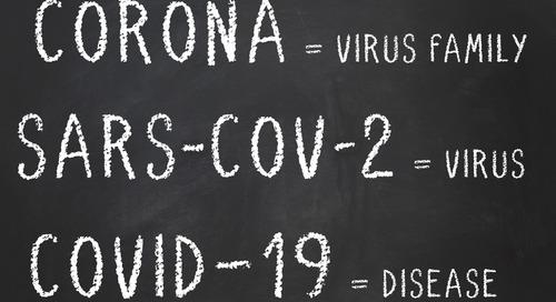 Coronavirus (COVID-19): A glossary of terms
