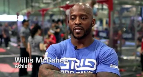 Talking CrossFit with Willis McGahee and Bryan S. Mitchell, M.D.