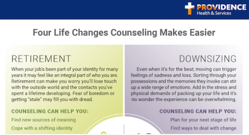 Counseling makes major life transitions easier as you age