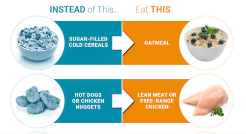 7 heart healthy swaps for processed foods