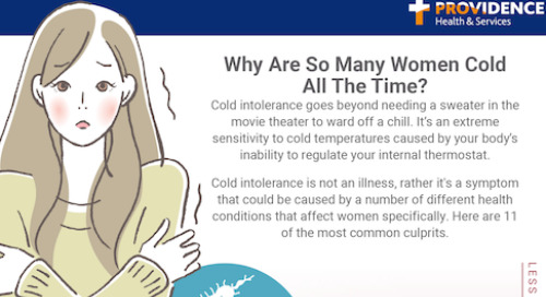 Why some women are always cold