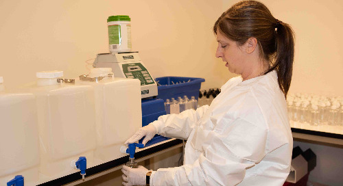 Providence Infusion Hospital Services manufactures hand sanitizer and N95 fit test solution