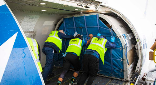 Alaska Airlines rushes mask materials to healthcare workers treating COVID-19