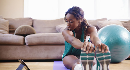 Try this stay-at-home workout: No equipment necessary