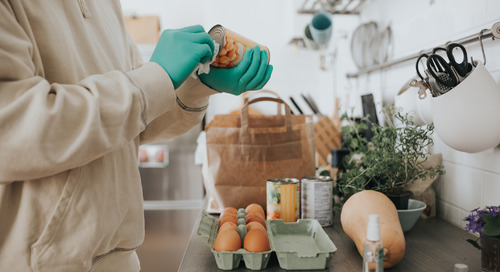 Do you need to disinfect your groceries?
