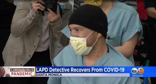 LAPD Detective Chang defeats COVID-19