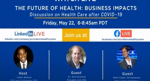 What will healthcare look like post-COVID?