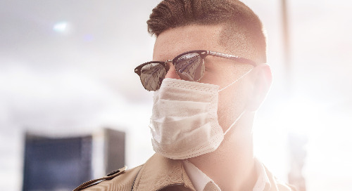 Face mask tip: How to keep your glasses from fogging up