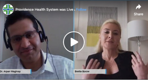 Facebook Live: Brette Borow, Founder of @TheHerFeed, speaks with Dr. Arpan Waghray, CMO of Well Being Trust