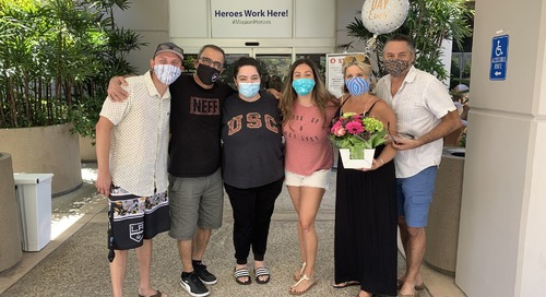A Year After Helping Talk a Woman Out of Suicide, Mission Viejo Woman Beats the Coronavirus