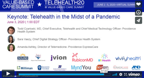 Providence executives discuss launching telehealth program during pandemic