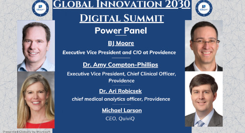Providence leaders join a panel at Ideagen's Global Innovation 2030 Digital Summit