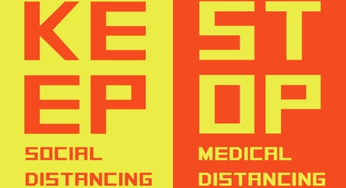 Stop Medical Distancing - a PSA from an alliance of healthcare experts